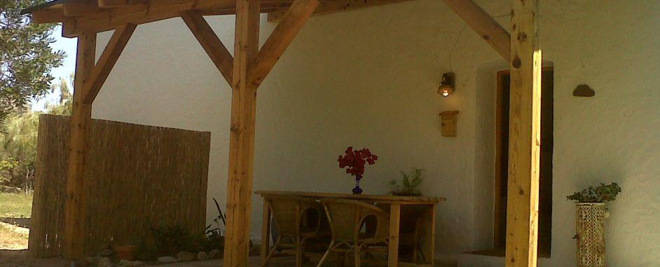 Nuevo Porche - New covered terrace