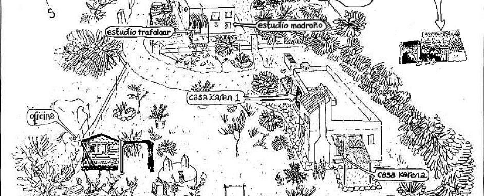 Casas Karen Map